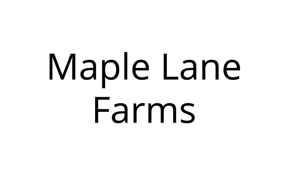 Maple Lane Farms Sponsor