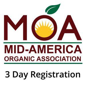 3 Day Registration