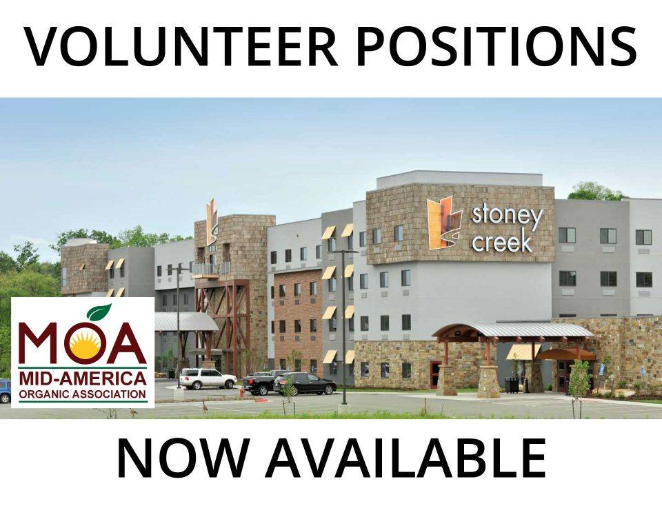 Volunteer Positions Now Open