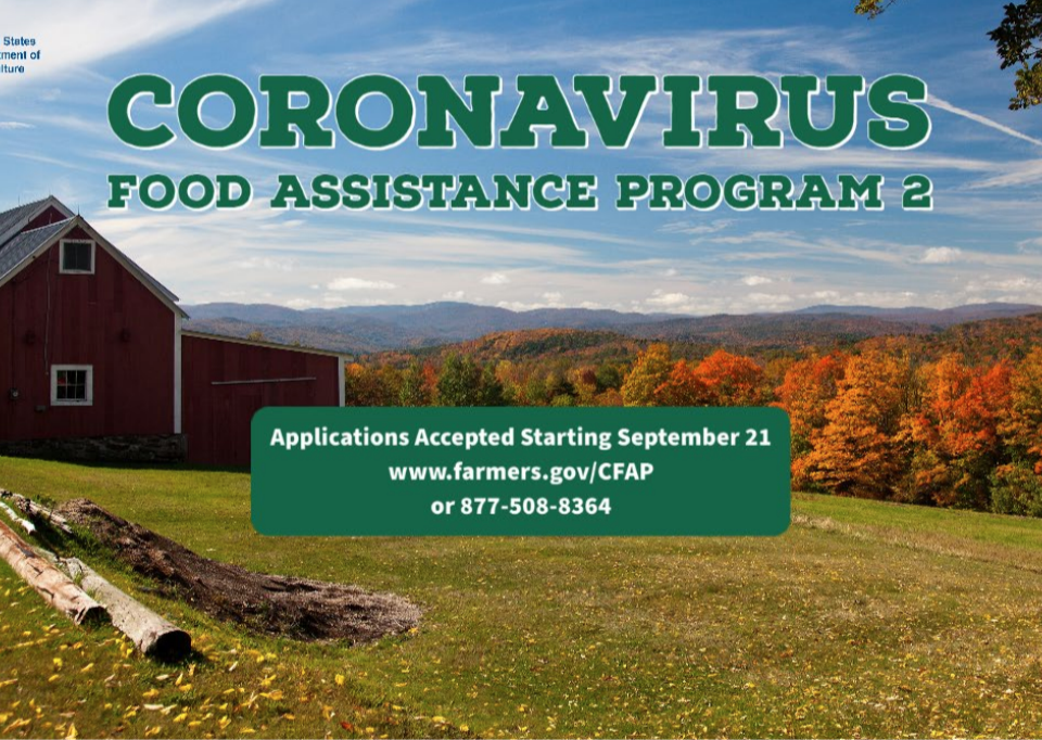 USDA Coronavirus Food Assistance Program 2