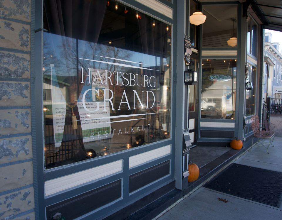 Photo of the Hartsburg Grand, where the Missouri Organic Association fall workshop was held