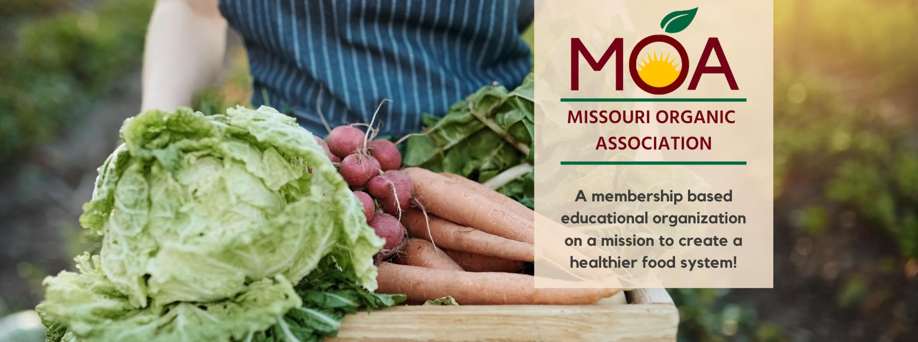 Missouri Organic Association - Sustainable Farming Banner