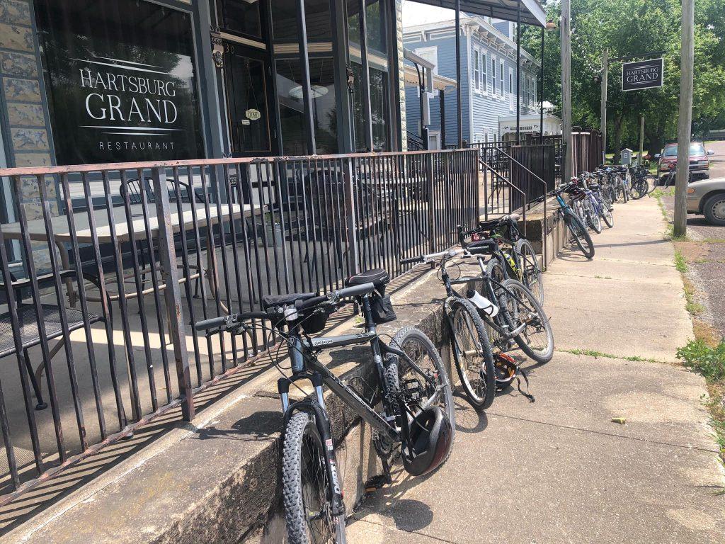 Bikes at the MOA Hartsburg Grand